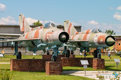 MiG-21 Fishbeds (Sam Wise) Tags: mikoyan aircraft plovdiv force air mig21 fishbed bulgaria aviation preservation jet gurevich mig bulgarian fighter museum krumovo