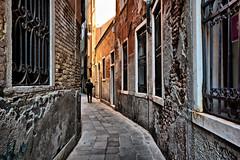 fate limit (obsidiana10) Tags: venice street man walls