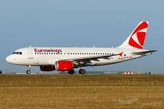 OK-NEO | Eurowings (leased from CSA) | Airbus A319-112 | BUD/LHBP (Tushka154) Tags: hungary spotter czechairlinescsa airbus ferihegy budapest a319112 a319 a319100 eurowings okneo airbusa319 aircraft airplane avgeek aviation aviationphotography budapestairport csa czechairlines lhbp lisztferencinternationalairport planespotter planespotting spotting