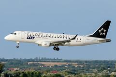 "SP-LIO | LOT - Polish Airlines (""Star Alliance"" livery) | Embraer ERJ-175LR (ERJ-170-200 LR) | BUD/LHBP (Tushka154) Tags: hungary specialscheme spotter splio erj175lr ferihegy budapest lotpolishairlines erj175 staralliance embraer aircraft airplane avgeek aviation aviationphotography budapestairport erj170200lr lhbp lot lisztferencinternationalairport planespotter planespotting spotting"