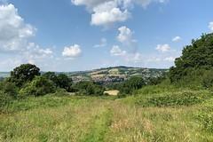 09 looking back to Winchcombe (Margaret Stranks) Tags: winchcombearea gloucestershire