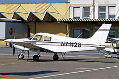 N71128   Piper PA-28-140 Cherokee [28-7225450] Graz~OE 14/07/2009 (raybarber2) Tags: 287225450 cn287225450 filed flickr lowglogx n71128 planebase raybarber single usacivil