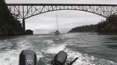 Deception Pass - July 11, 2019 (Jeffxx) Tags: crabash 2019 july fidalgo deception pass bridge yamaha 115 outboard sailboat alumaweld