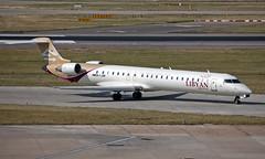 5A-LAM - Bombardier CRJ-900 - LHR (Seán Noel O'Connell) Tags: libyanairlines 5alam bombardier crj900 crj9 heathrowairport heathrow lhr egll tip hllt ln777 laa777 aviation avgeek aviationphotography planespotting