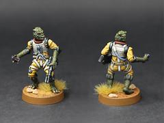 Star Wars Legion - Bossk (PeteB187) Tags: ffg fantasyflightgames starwars scifi bountyhunter alien miniature miniatures model mini minitaure 28mm 32mm