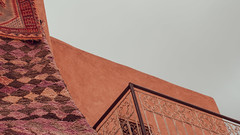 do they still fly? (Conny Spandl) Tags: morocco carpets colorful marrakech panaso 45 mm