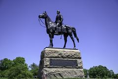 George Gordon Meade Statue (dcnelson1898) Tags: gettysburg pennsylvania civilwar militaryhistory america usa unitedstates nationalpark gettysburgnationalmilitarypark nps memorial battle park