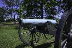 Canon with Bulged Barrel (dcnelson1898) Tags: gettysburg pennsylvania civilwar militaryhistory america usa unitedstates nationalpark gettysburgnationalmilitarypark nps memorial battle park