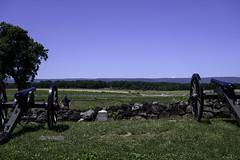 71st Pa.V Position on Cemetery Ridge (dcnelson1898) Tags: gettysburg pennsylvania civilwar militaryhistory america usa unitedstates nationalpark gettysburgnationalmilitarypark nps memorial battle park