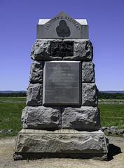 "71st P.V.I. ""California Regiment"" Monument (dcnelson1898) Tags: gettysburg pennsylvania civilwar militaryhistory america usa unitedstates nationalpark gettysburgnationalmilitarypark nps memorial battle park"