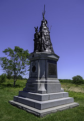 "42nd New York ""Tamany Regiment"" Monument (dcnelson1898) Tags: gettysburg pennsylvania civilwar militaryhistory america usa unitedstates nationalpark gettysburgnationalmilitarypark nps memorial battle park"