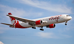 C-GDUZ - Boeing 767-38E(ER) - LHR (Seán Noel O'Connell) Tags: aircanadarouge cgduz boeing 76738eer b763 b767 767 heathrowairport heathrow lhr egll ath lgav yul cyul ac1935 rou1935 divert aviation avgeek aviationphotography planespotting 27r