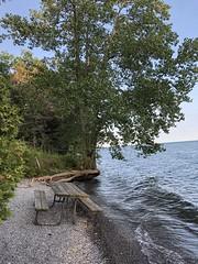 Presquile Provincial Park. Brighton,  Ontario (m.s. shutterbug) Tags: camping wave shore presquileprovincialpark lakeontario water