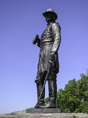 Gouverneur K. Warren Memorial (dcnelson1898) Tags: gettysburg pennsylvania civilwar militaryhistory america usa unitedstates nationalpark gettysburgnationalmilitarypark nps memorial battle park