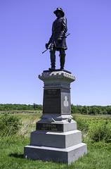 General John Gibbon Monument (dcnelson1898) Tags: gettysburg pennsylvania civilwar militaryhistory america usa unitedstates nationalpark gettysburgnationalmilitarypark nps memorial battle park