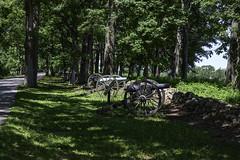 Confederate Gun Line (dcnelson1898) Tags: gettysburg pennsylvania civilwar militaryhistory america usa unitedstates nationalpark gettysburgnationalmilitarypark nps memorial battle park