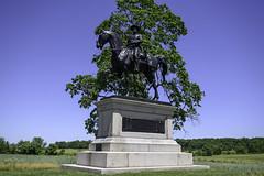 General John Reynolds Memorial (dcnelson1898) Tags: gettysburg pennsylvania civilwar militaryhistory america usa unitedstates nationalpark gettysburgnationalmilitarypark nps memorial battle park