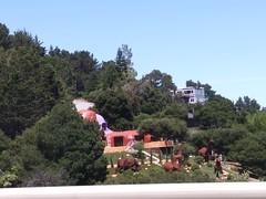 Flintstone House (c_nilsen) Tags: california sanmateocounty cameraphone digital digitalphoto hillsborough flintstonehouse house architecture