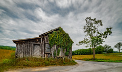 The Corner Store (Bob G. Bell) Tags: abandoned store road clouds tree bobbell greenbrier wv nikon d750 rokinon14mm