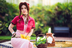 Aerith (Kaze_Photography) Tags: コスプレ cosplay finalfantasy ff7 finalfantasyvii aerith squareenix