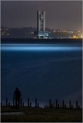 Moonlight (Emilio Rodríguez Álvarez) Tags: coruña nocturna torre control sea sealand galicia spain cantabrico atlantico oceano