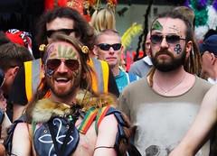 Carnival 2019 73 (byronv2) Tags: edinburgh edimbourg scotland princesstreet newtown carnival edinburghjazzbluesfestival edinburghjazzbluesfestival2019 peoplewatching candid street costume festival parade portrait man