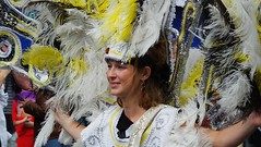 Carnival 2019 61 (byronv2) Tags: edinburgh edimbourg scotland princesstreet newtown carnival edinburghjazzbluesfestival edinburghjazzbluesfestival2019 peoplewatching candid street costume festival parade portrait woman