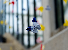 Paper Butterfly (Just_us_photography) Tags: butterfly origami paper art kew