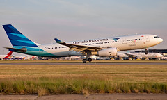 PK-GPS - Airbus A330-243 - LHR (Seán Noel O'Connell) Tags: garudaindonesia pkgps airbus a330243 a330 a332 heathrowairport heathrow lhr egll kno wimm ga86 gia86 aviation avgeek aviationphotography planespotting