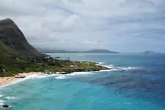Makapu'u beach park (heartinhawaii) Tags: makapuu makapuubeachpark eastoahu oahu waimanalo hawaii beach mountains offshoreislands makapuulookout landscape seascape nature nikond3300