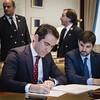 Teodoro García Egea registra su acta como diputado de la XIII Legislatura. (20/05/2019)