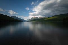 Half a Moment at Bowman Lake (Ken Krach Photography) Tags: glaciernationalpark bowmanlake