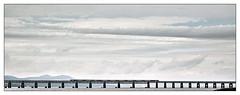 Two Thousand Acres of Sky (david.hayes77) Tags: dundee scotland firthoftay 2019 hst highspeedtrain taybridge 1e15 lner twothousandacresofsky contrejour backlit