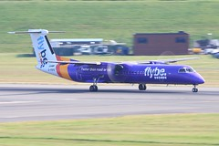 G-PRPE ~ 2019-07-16 @ BHX (4) (www.EGBE.info) Tags: gprpe birminghamairport bhx egbb aircraftpix generalaviation aircraftpictures airplanephotos airplane airplanepictures cvtwings aviation davelenton httpwwwegbeinfo planespotting 17072019 dehavilland dhc8 flybe