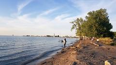 Lake Ontario (Dallas K. Sanders) Tags: adobelightroom beach canada ontario stcatharines lakesidepark niagara lake dusk sundown galaxynote8 summervacation ourhomestc 2019 tripshome
