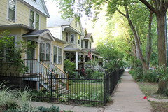 Homestead (Flint Foto Factory) Tags: chicago illinois urban city summer july 2019 north edgewater monday evening pm walk neighborhood ardmore pretty street home homestead house houses sidewalk trees raytown pennsylvania mamasfamily beingthere feelsgood