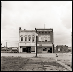 Cairo Nº 4 (efo) Tags: bw film cairo illinois downtown abandoned midwest hasselblad