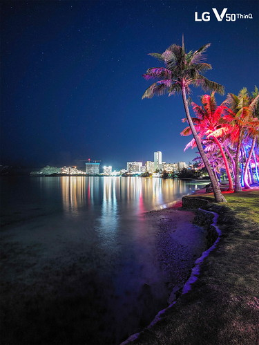 'LG V50 ThinQ와 함께한 괌 출사단' 온라인 사진전 열어