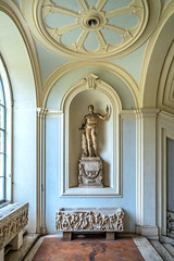 Niche in the Stair Room (ken mccown) Tags: palazzocorsini rome italy architecture niche sculpture