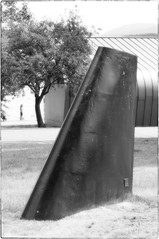 Single Fin (NoJuan) Tags: gx85 panasonicgx85 75mm olympus75mmf18 microfourthirds micro43 mirrorless m43 mft magnusonpark seattlewa washingtonstate pacificnorthwest artinstallation publicart thefinproject bw blackwhite blackandwhite silkymonochrome