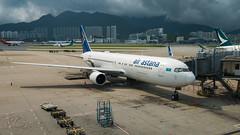 P4-KEA - Air Astana - Boeing 767-3KYER (bcavpics) Tags: china plane airplane hongkong aviation sar airastana p4kea aircraft boeing hkg airliner 767 cheklapkok vhhh 763er bcpics