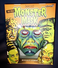 Frankenstein Super7 Retro Monster Mask NYC 5981 (Brechtbug) Tags: frankenstein super7 halloween semi vintage mask universal studios ben cooper collegeville halco ghoulsville retro newspaper sunday funnies comics holiday costume americana america freedom justice super hero spooky jumbo size sized giant fun house 2019 retroagogo vactastic 07162019 son frankie july 7 seven