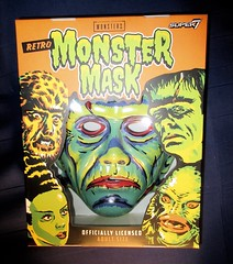 Frankenstein Super7 Retro Monster Mask NYC 5982 (Brechtbug) Tags: frankenstein super7 halloween semi vintage mask universal studios ben cooper collegeville halco ghoulsville retro newspaper sunday funnies comics holiday costume americana america freedom justice super hero spooky jumbo size sized giant fun house 2019 retroagogo vactastic 07162019 son frankie july 7 seven