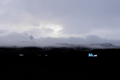 Glacier Away (Black-Brick) Tags: chile patagonia torres del paine glacier ice air shape blue grey lago park mountain cloud