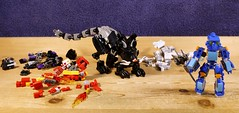 Oh No... (MCLegoboy) Tags: cat kitten lego system disaster bionicle gali biological joint redemption toa round2 moc tahu mixel kopaka myowncreation onua biocup2019