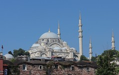 Imposing Ottoman Architecture, Suleymaniye Mosque, Old City, Istanbul, Turkey (Bencito the Traveller) Tags: turkey istanbul oldcity suleymaniyemosque ottomanarchitecture