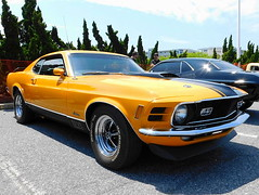 1970 Ford Mustang Mach 1 (splattergraphics) Tags: 1970 ford mustang mach1 fastback carshow cruisinoceancity oceancitymd