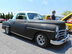 1950 Dodge Wayfarer (splattergraphics) Tags: 1950 dodge wayfarer businesscoupe primer mopar carshow cruisinoceancity oceancitymd