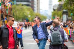 Gavin Newsom Works the Crowd, SF Pride 2015 (Thomas Hawk) Tags: america bayarea california gavinnewsom jennifersiebel lgbt lgbtq marketst marketstreet pride pride2015 prideparade2015 prideweekend sf sfpride sfpride2015 sanfrancisco usa unitedstates unitedstatesofamerica parade politician politics