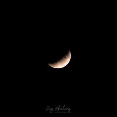 Into The Shadow (RTA Photography) Tags: lunar partiallunareclipse moon astrophotography nikon d750 tamron70300 night dark astronomy